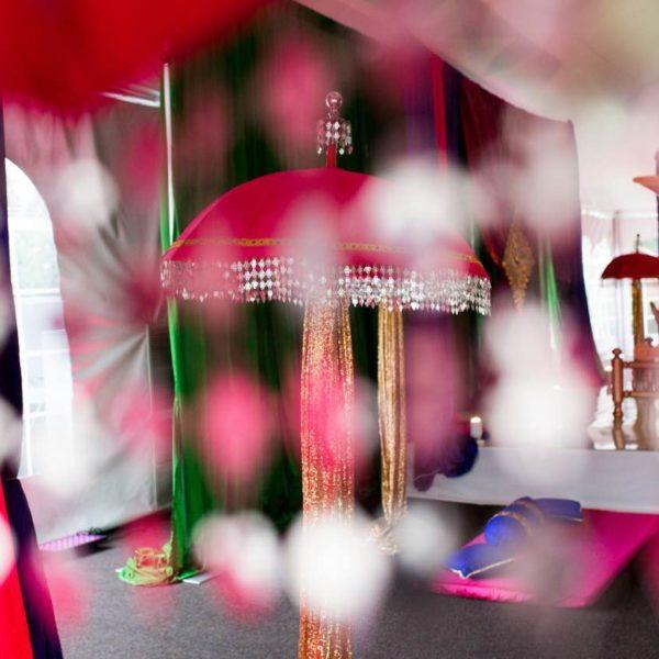 Indian Wedding Garba Decor - Crowne Plaza Warwick Rhode Island