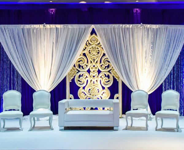 Pakistani Wedding Valima Decor - Lantana Randolph MA