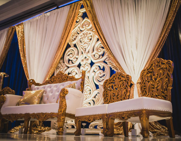 Pakistani Wedding Valima Decor - Providence RI