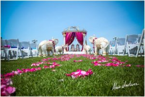 Indian Wedding decorator Belle Mer newport RI 2