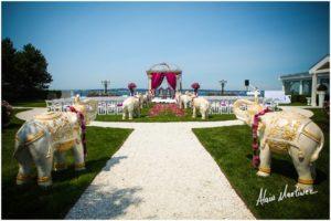 Indian Wedding decorator Belle Mer newport RI 3