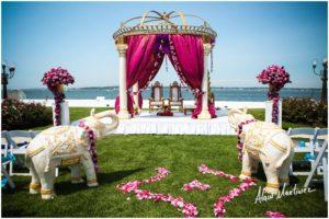 Indian Wedding decorator Belle Mer newport RI 4