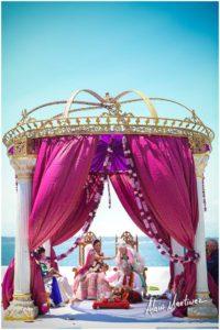 Indian Wedding decorator Belle Mer newport RI 5